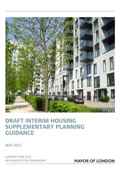 Surprising Housing Supplementary Planning Guidance Contemporary ...