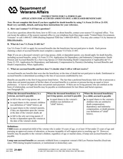 How do you fill out VA Form 21-686c?