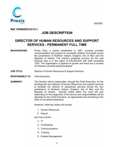 Human Resources Business Partner Job Description Students – Hr Director Job Description