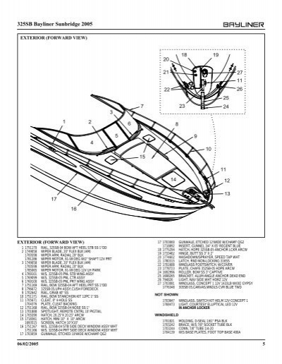 wiring diagram bayliner boats