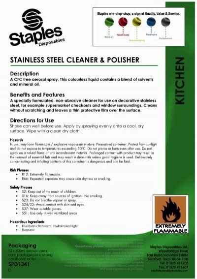 Stainless Steel Cleaner Polisher
