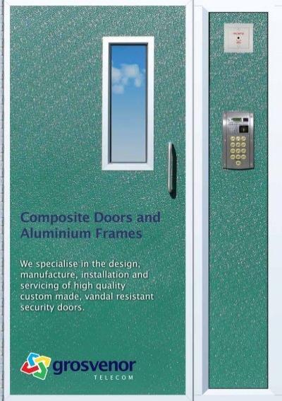 & Composite Doors and Aluminium Frames - Grosvenor Telecom