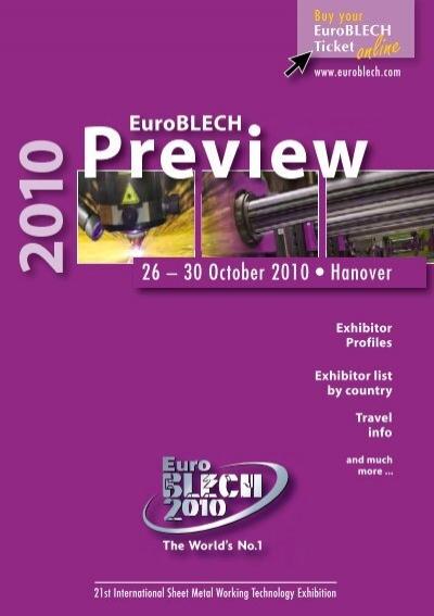 Hall 11 Euroblech
