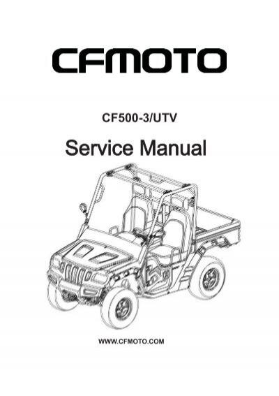 500 - U5 (CF500-3) - Technical Service Manual pdf - Mojo