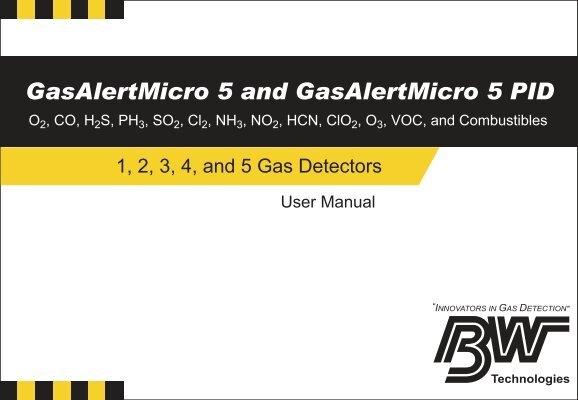 gas alert micro 5 manual
