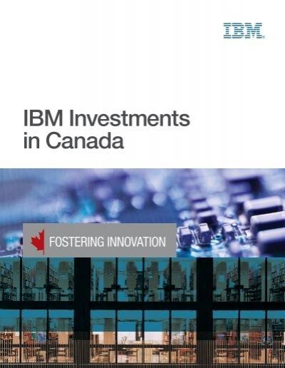 ibm investments