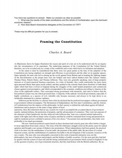 Beard thesis us constitution Coursework Help zycourseworksqih ...