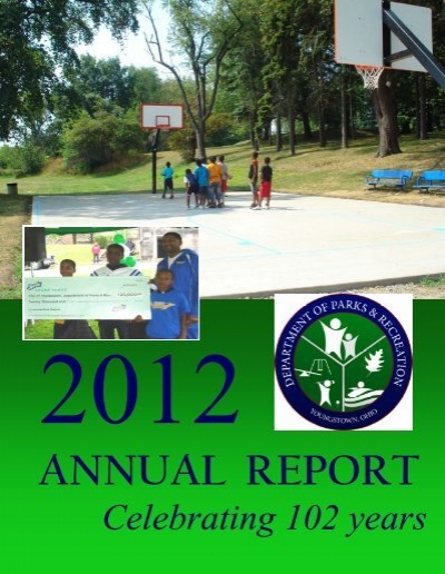 Annual Report 2012 Pub City Of Youngstown