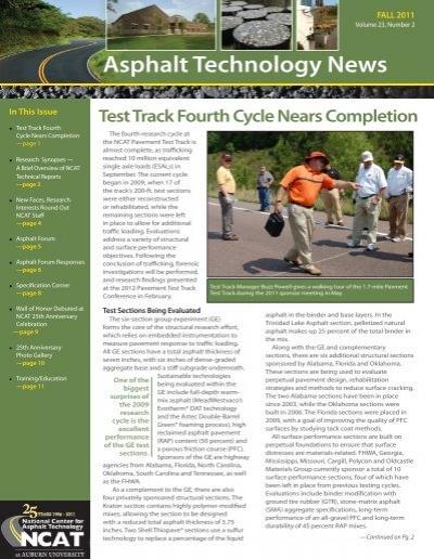 Tech News Et Test : asphalt technology news test track fourth auburn university ~ Medecine-chirurgie-esthetiques.com Avis de Voitures