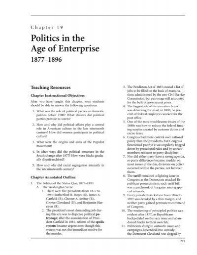 Politics in the age of enterprise bedfordstmartins bedfordst politics in the age of enterprise bedfordstmartins bedfordst fandeluxe Gallery