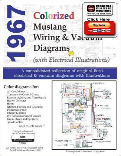 demo 1967 mustang wiring and vacuum diagrams 1997 ford f-250 wiring diagram 1967 f250 horn wiring diagram #23