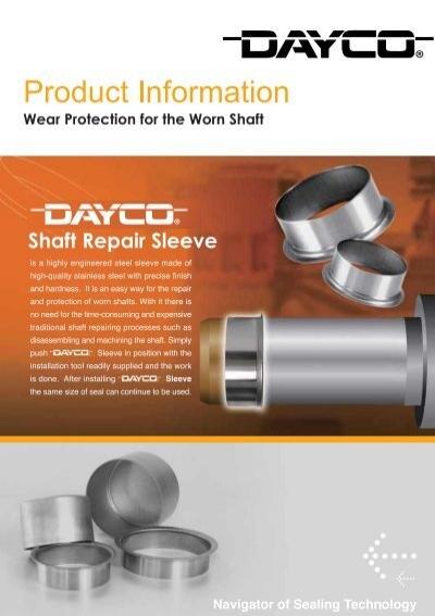 Shaft repair sleeves