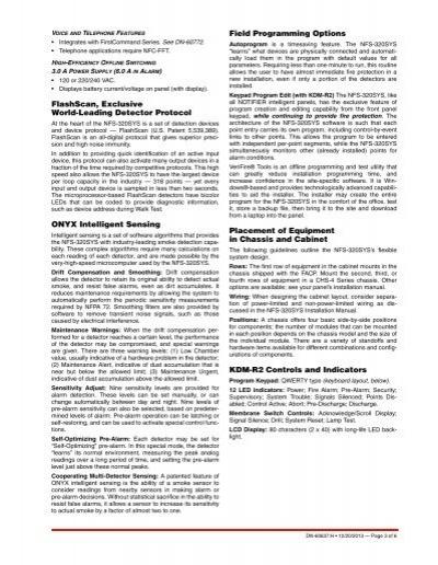 Addressable notifier Installation Manual