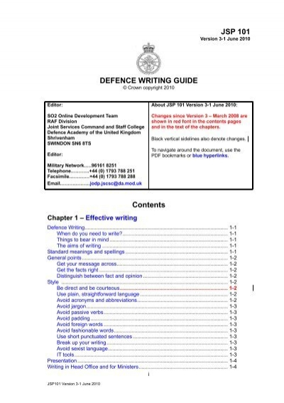 Jsp 101 defence writing guide defence academy of the united jsp 101 defence writing guide defence academy of the united spiritdancerdesigns Choice Image