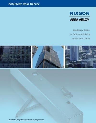 Charmant Automatic Door Opener   ASSA ABLOY Door Security Solutions .