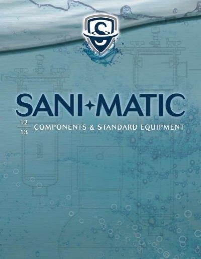 4 Body Size Sani-Matic Tri-Clamp