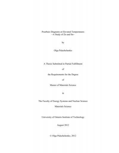 Pourbaix diagrams at elevated temperatures a e scholaruoit ccuart Images