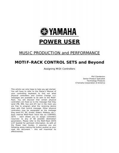 motif rack control sets and beyond keyfax rh yumpu com yamaha motif rack service manual yamaha motif rack es owners manual