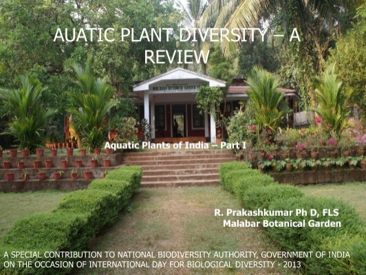 Aquatic Plants Of India   Part I   National Biodiversity Authority