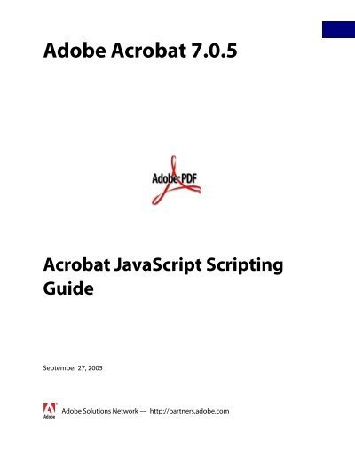 how to save a pdf with acrobat javascript