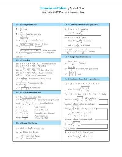 triola statistics test Test bank elementary statistics 12th edition triola at .