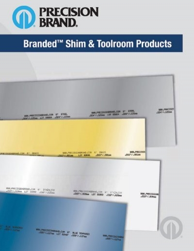 """Precision Brand 23145 .005/"""" 6/""""x 50/"""" Blue Tempered Spring Steel Shim Stock Roll"""