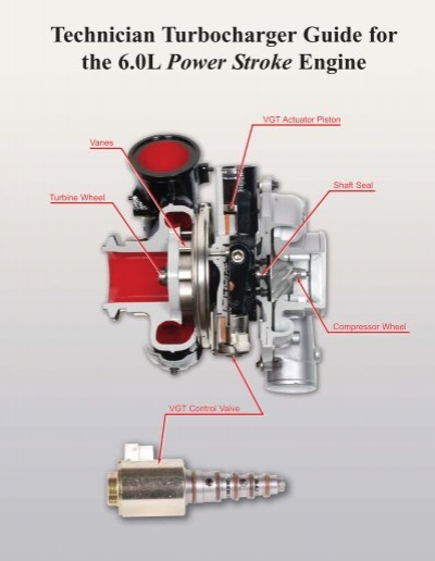 Technician Turbocharger Guide for the 6.0L Power Stroke EngineYumpu
