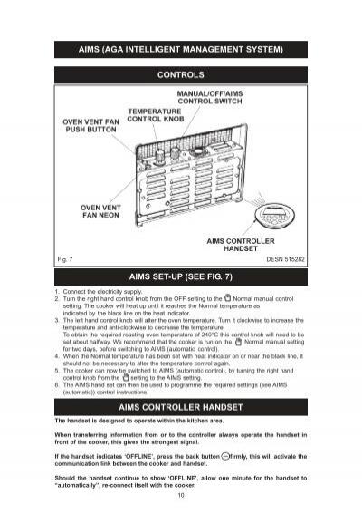 aims aga intelligent man rh yumpu com Franklin Electric Control Box Parts Instruction Manual for Remote
