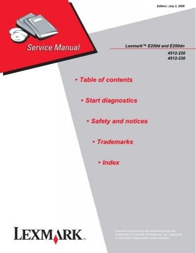 Download free pdf for lexmark optra w820dn printer manual.