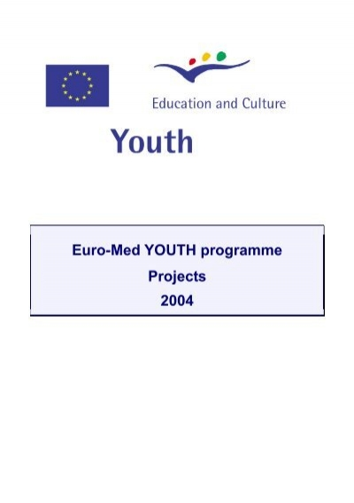 foto de Euro-Med YOUTH programme Projects 2004 - EACEA - Europa