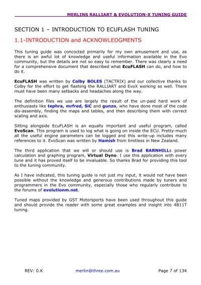 merlins ralliart evolut rh yumpu com