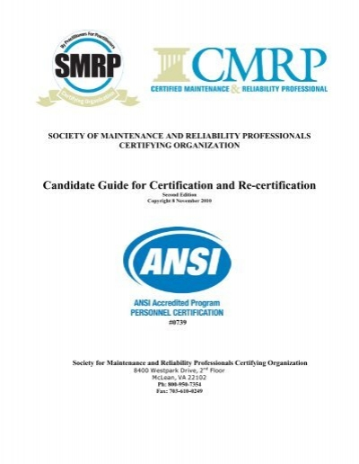 candidate guide for certification and re certification society for rh yumpu com Certification Mark Certification Letter