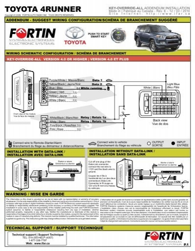 KEY-OVERRIDE-ALL & Toyota 4Runner - Fortin Electronic Systems on avalon wiring diagram, matrix wiring diagram, celica wiring diagram, g6 wiring diagram, impreza wiring diagram, 4runner door speakers, forester wiring diagram, es 350 wiring diagram, frontier wiring diagram, 4runner bulb chart, galant wiring diagram, land cruiser wiring diagram, versa wiring diagram, traverse wiring diagram, yukon wiring diagram, fusion wiring diagram, 4runner model differences, model wiring diagram, van wiring diagram, echo wiring diagram,
