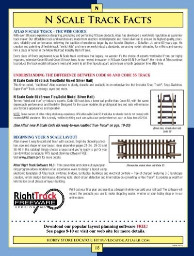 N Scale Track Facts - MyHobby24