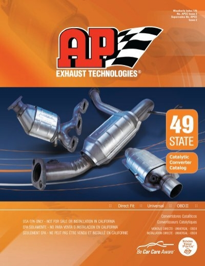 AP Exhaust 642293 Catalytic Converter