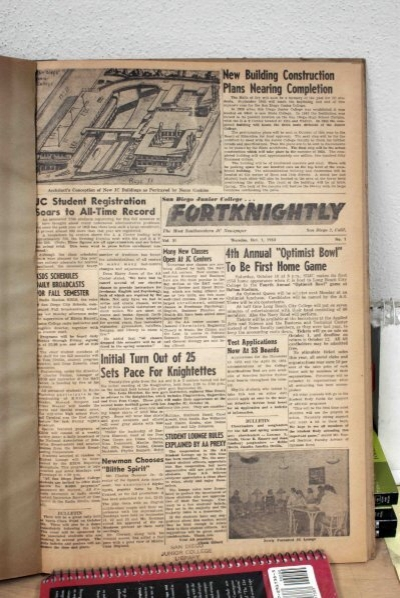 1953 54 Fortknightly Vol11 Schoenherr Home Page In Sunny