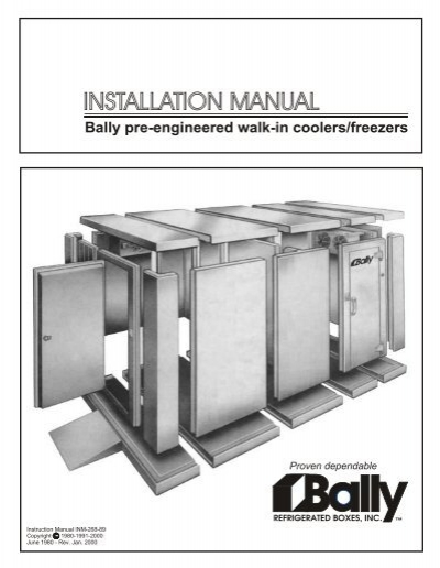 bally pre engineered walk in coolers freezers bmil international, inc