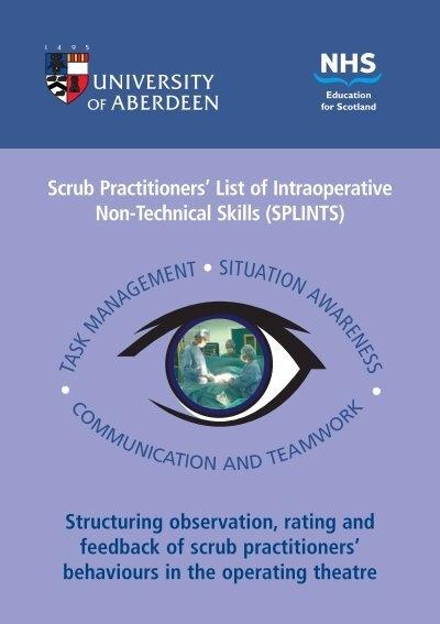 Scrub Practitionersu0027 List Of Intraoperative Non Technical Skills