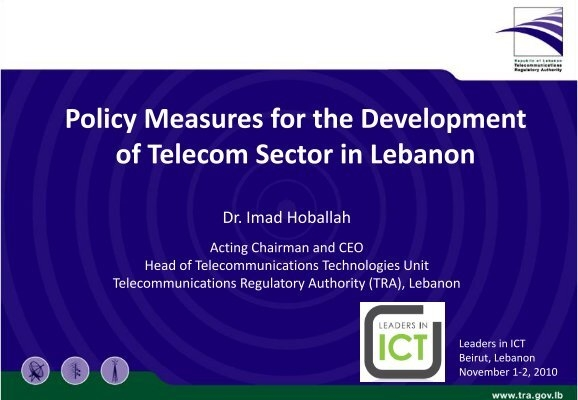 development of telecommunication sector benefits Telecommunications enables participation and development telecommunications benefits rather, the development telecommunication systems and the development.