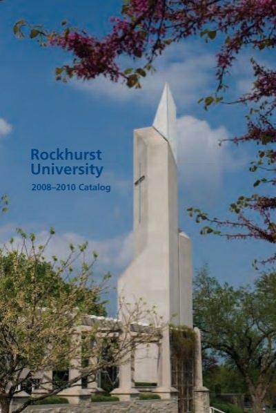 2008 2010 Catalog Rockhurst University
