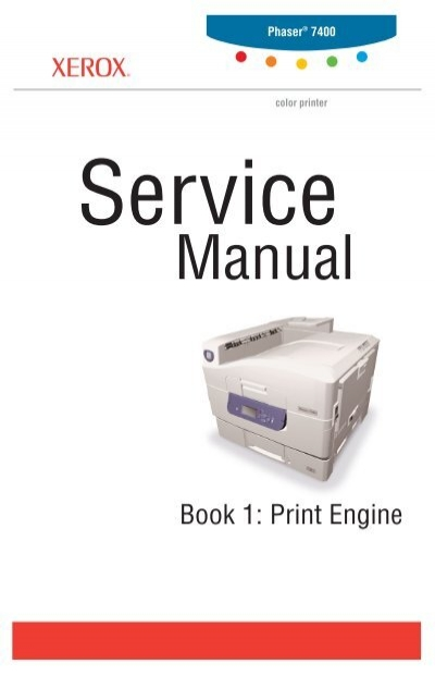 phaser 7400 color printer service manual hpi technologies rh yumpu com Xerox Printing Solutions phaser 8400 service manual