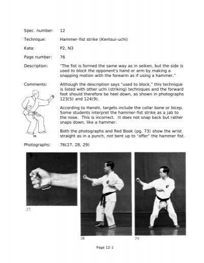 Hammer Fist Strike Ueshiro Midtown Karate