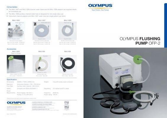 ofp olympus flushing pump rh yumpu com Olympus Ofp 2 Flushing Pump Olympus Endoscopy Accessories