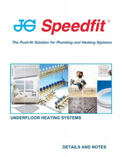 UNDERFLOOR HEATING SYSTEMS DETAILS AND NOTES   Speedfit Underfloor Heating Wiring Diagram      Yumpu
