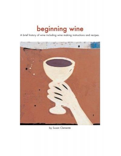 Beginning Wine Susan Clemente