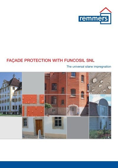 facade protection with funcosil snl remmers uk limited. Black Bedroom Furniture Sets. Home Design Ideas