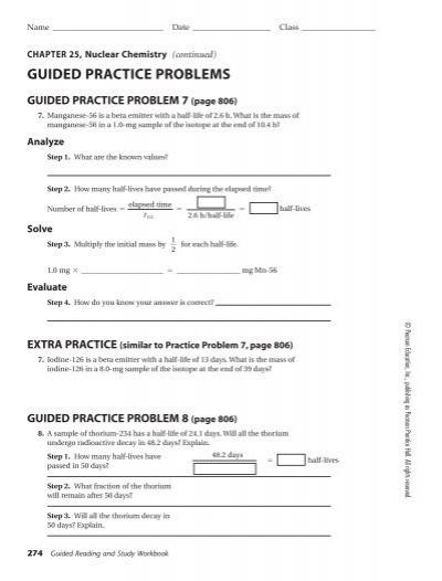 pearson education inc rh yumpu com guided practice problem 2 page 387 guided practice problem 23 (page 117)