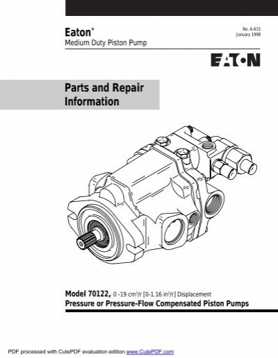 Model 70422 or 70423Parts