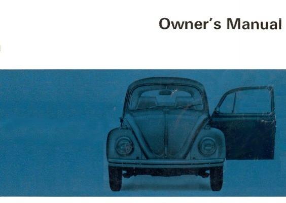 december 1967 beetle owner s manual pdf thesamba com rh yumpu com 1966 VW Beetle 1968 VW Beetle