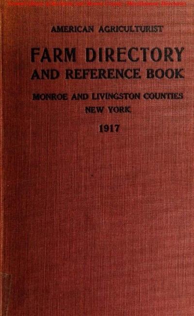 Farm Dii Monroe County Library System